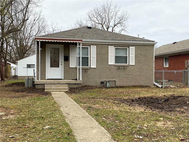 350 S Webster Avenue, Indianapolis, IN 46219 (MLS #21759504) :: Mike Price Realty Team - RE/MAX Centerstone
