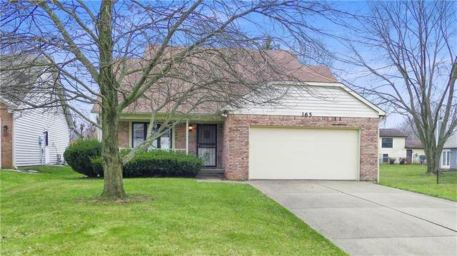165 Christy Drive, Greenwood, IN 46143 (MLS #21759532) :: Realty ONE Group Dream