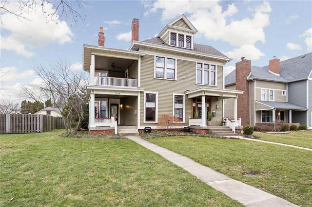 1526 N Park Avenue, Indianapolis, IN 46202 (MLS #21759618) :: The Evelo Team