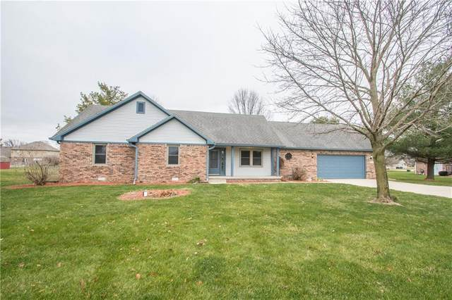 3711 N Strahl Drive, Greenfield, IN 46140 (MLS #21759621) :: The Evelo Team