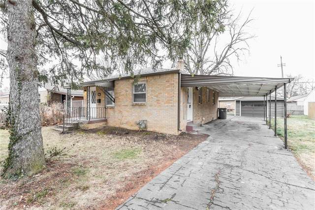 306 S Sheridan Avenue, Indianapolis, IN 46219 (MLS #21759622) :: The Evelo Team