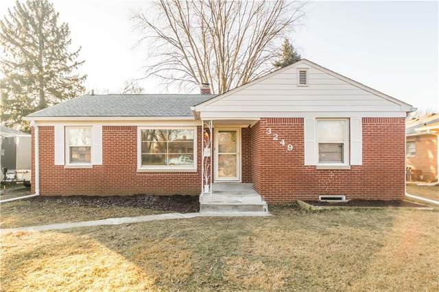 3249 W 29th Street, Indianapolis, IN 46222 (MLS #21759715) :: The Indy Property Source