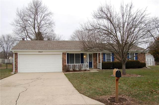 7647 Muirfield Circle, Indianapolis, IN 46237 (MLS #21759727) :: Corbett & Company