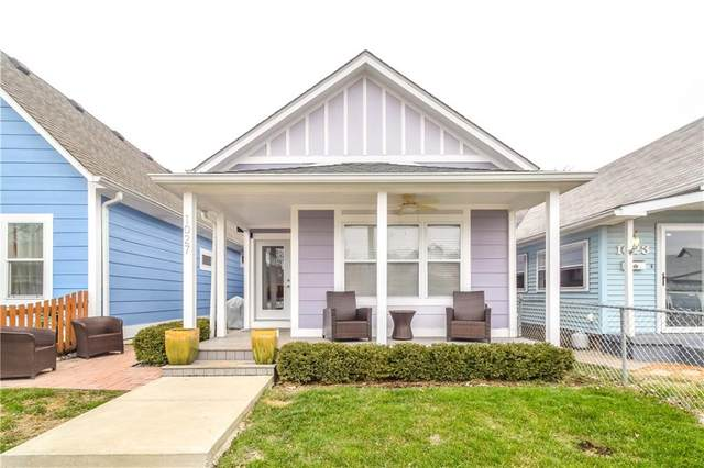 1027 Elm Street, Indianapolis, IN 46203 (MLS #21759780) :: Realty ONE Group Dream