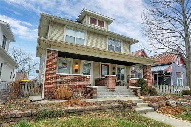 1306 E Vermont Street, Indianapolis, IN 46202 (MLS #21759834) :: The Evelo Team