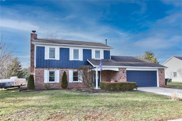 12374 Ensley Drive, Fishers, IN 46038 (MLS #21759859) :: Mike Price Realty Team - RE/MAX Centerstone