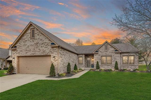 4814 Ashbrook Drive, Noblesville, IN 46060 (MLS #21759862) :: The Evelo Team