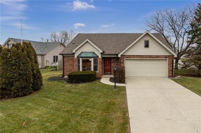 8857 Red Cedar Court, Indianapolis, IN 46256 (MLS #21759874) :: The Evelo Team