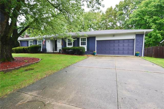 6340 Woodwind Drive, Indianapolis, IN 46217 (MLS #21759916) :: The Evelo Team