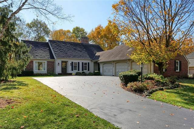 11460 Valley Meadow Drive, Zionsville, IN 46077 (MLS #21759921) :: The Evelo Team