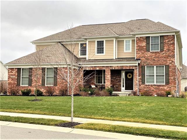 9990 Win Star Way, Fishers, IN 46040 (MLS #21759936) :: Mike Price Realty Team - RE/MAX Centerstone