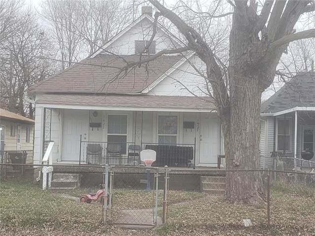 1425 & 1427 Churchman Avenue, Indianapolis, IN 46203 (MLS #21759943) :: Realty ONE Group Dream
