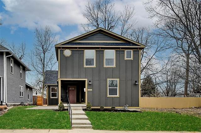 1106 N Hamilton Avenue, Indianapolis, IN 46201 (MLS #21760057) :: Realty ONE Group Dream