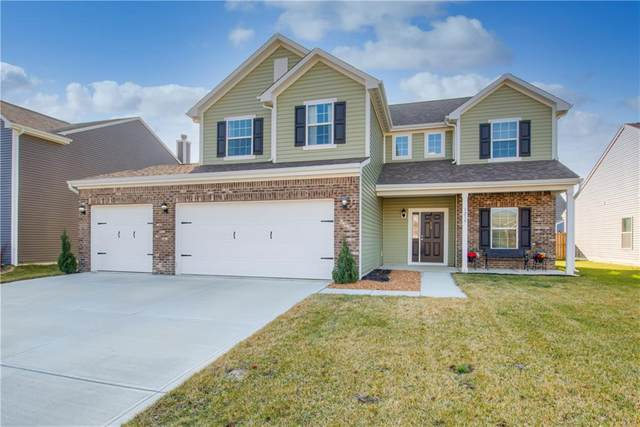 1239 Brookdale Court, Franklin, IN 46131 (MLS #21760143) :: The Indy Property Source
