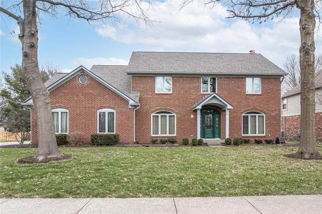 13927 Stonemill Circle E, Carmel, IN 46032 (MLS #21760159) :: The Indy Property Source