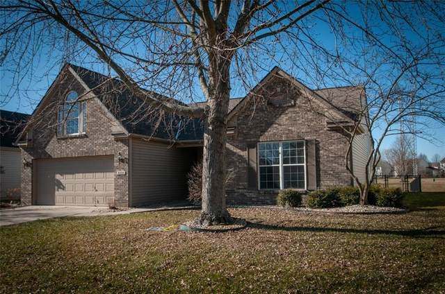 6554 Hunters Ridge S, Zionsville, IN 46077 (MLS #21760174) :: The Evelo Team
