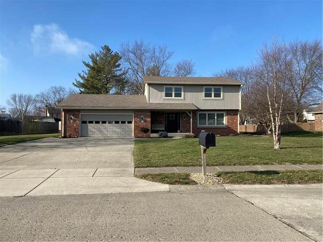 1308 Greenhills Road, Greenfield, IN 46140 (MLS #21760244) :: Mike Price Realty Team - RE/MAX Centerstone