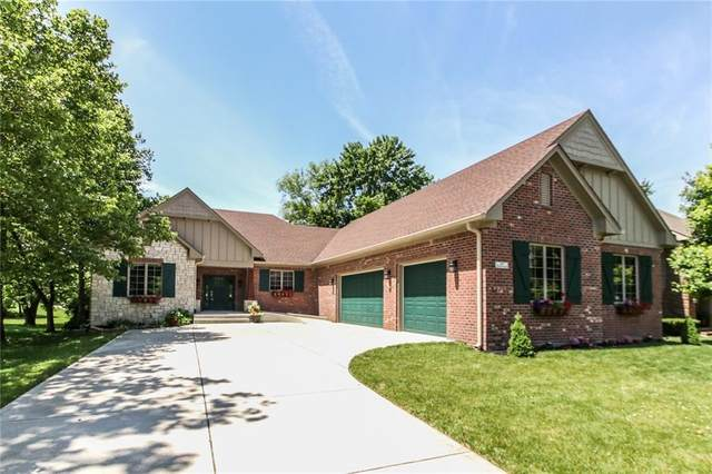 843 Wilderness Lane, Greenwood, IN 46142 (MLS #21760260) :: The Indy Property Source
