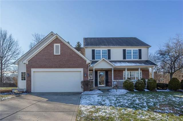 6327 Columbia Circle, Fishers, IN 46038 (MLS #21760324) :: Mike Price Realty Team - RE/MAX Centerstone