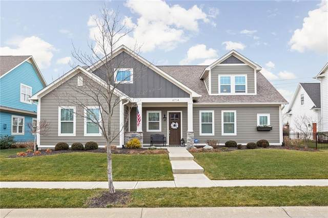 6714 Chapel Crossing, Zionsville, IN 46077 (MLS #21760348) :: The Evelo Team