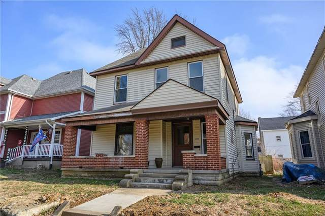 606 N Harrison Street, Rushville, IN 46173 (MLS #21760370) :: Mike Price Realty Team - RE/MAX Centerstone