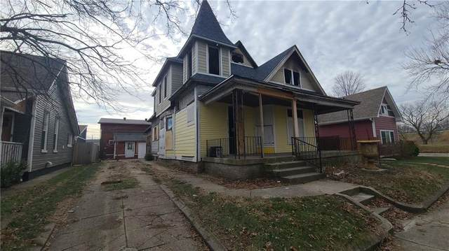 929 Sanders Street, Indianapolis, IN 46203 (MLS #21760380) :: Mike Price Realty Team - RE/MAX Centerstone