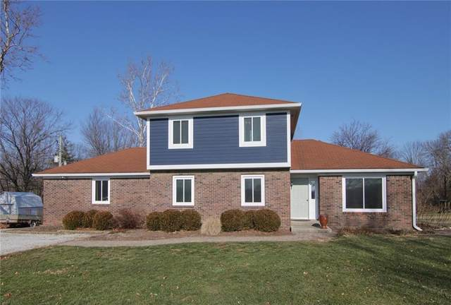 8850 E 575 South, Zionsville, IN 46077 (MLS #21760465) :: The Indy Property Source