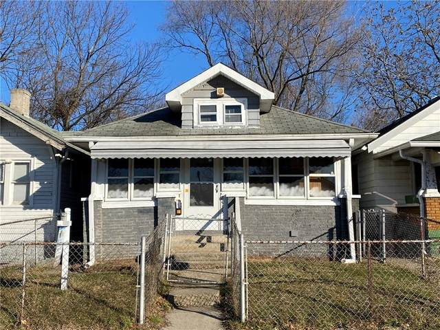 2433 Indianapolis Avenue, Indianapolis, IN 46208 (MLS #21760520) :: AR/haus Group Realty