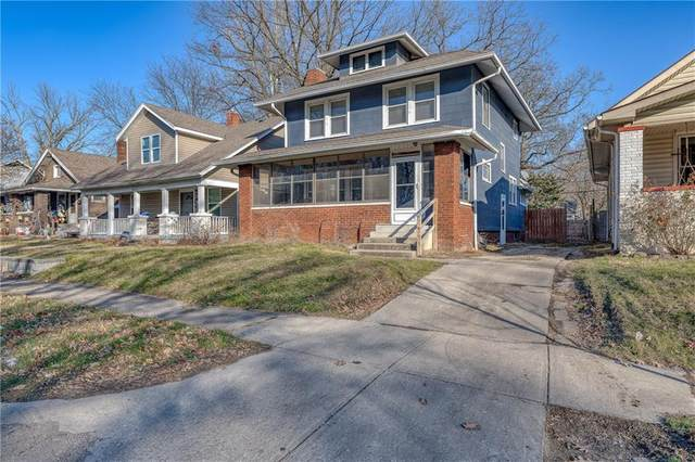 733 N Gladstone Avenue, Indianapolis, IN 46201 (MLS #21760571) :: Anthony Robinson & AMR Real Estate Group LLC