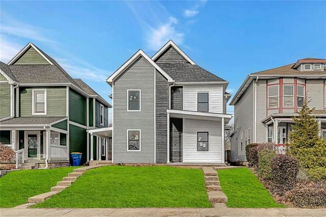 1142 E Ohio Street, Indianapolis, IN 46202 (MLS #21760602) :: Realty ONE Group Dream