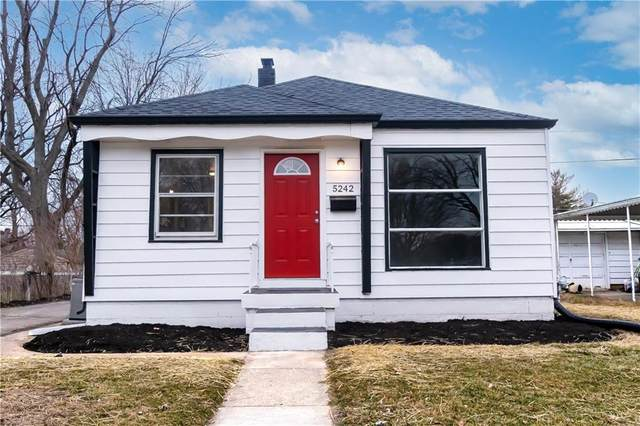5242 E 20th Street, Indianapolis, IN 46218 (MLS #21760610) :: Mike Price Realty Team - RE/MAX Centerstone