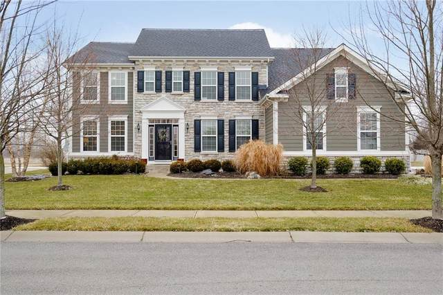 10632 Morningtide Circle, Fishers, IN 46038 (MLS #21760643) :: Mike Price Realty Team - RE/MAX Centerstone