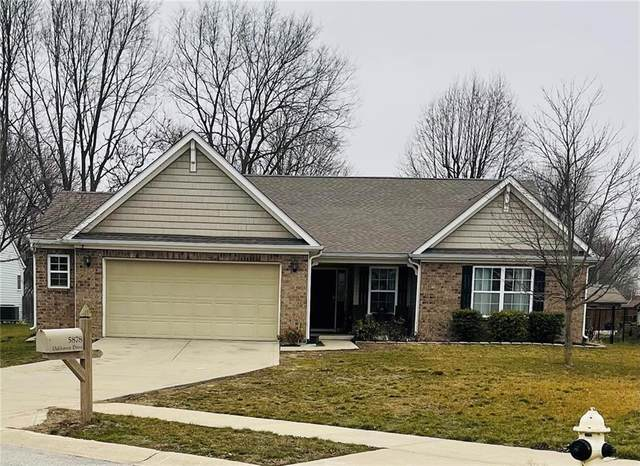 5878 Oakhaven Drive, Greenwood, IN 46142 (MLS #21760661) :: Realty ONE Group Dream