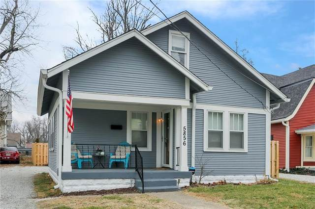 5856 Dewey Avenue, Indianapolis, IN 46219 (MLS #21760673) :: Mike Price Realty Team - RE/MAX Centerstone