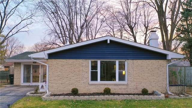 7317 E 50th Street, Indianapolis, IN 46226 (MLS #21760780) :: Anthony Robinson & AMR Real Estate Group LLC