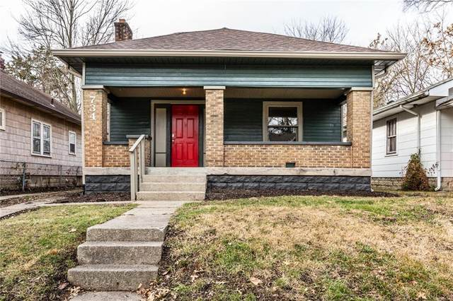 734 N Gladstone Avenue, Indianapolis, IN 46201 (MLS #21760792) :: Anthony Robinson & AMR Real Estate Group LLC
