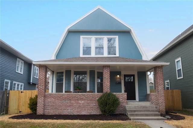 2848 Washington Boulevard, Indianapolis, IN 46205 (MLS #21760834) :: Anthony Robinson & AMR Real Estate Group LLC
