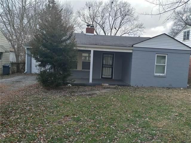 3620 N Bancroft Street, Indianapolis, IN 46218 (MLS #21760842) :: Richwine Elite Group