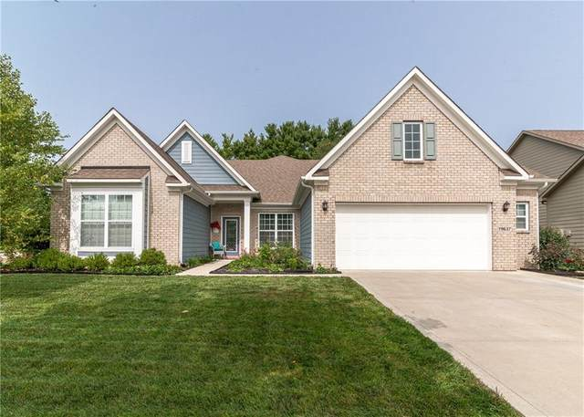 19637 Wagon Trail Drive, Noblesville, IN 46060 (MLS #21760844) :: The Evelo Team