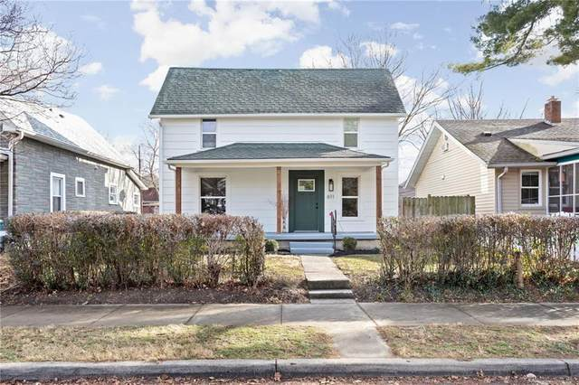 611 Tecumseh Street, Indianapolis, IN 46201 (MLS #21760969) :: David Brenton's Team