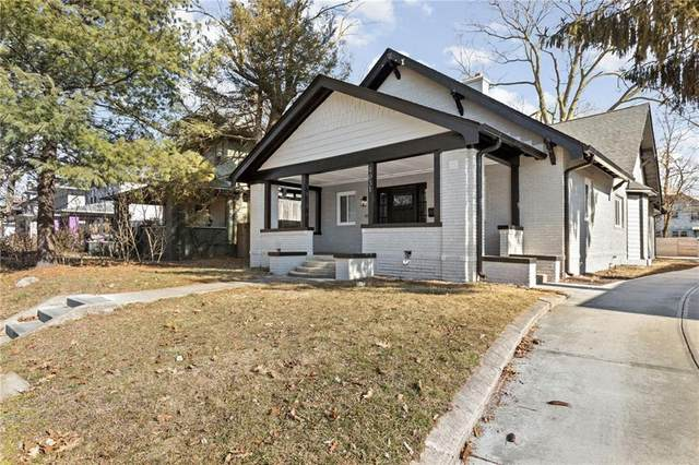 4031 N College Avenue, Indianapolis, IN 46205 (MLS #21761044) :: The Evelo Team