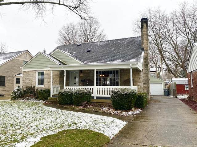 886 Whittier Place, Indianapolis, IN 46219 (MLS #21761077) :: The Indy Property Source