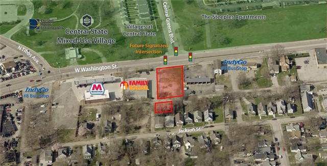 3021 W Washington Street, Indianapolis, IN 46222 (MLS #21761083) :: The Evelo Team