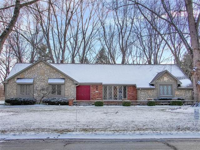 1625 Hunting Drive, Indianapolis, IN 46217 (MLS #21761128) :: Dean Wagner Realtors