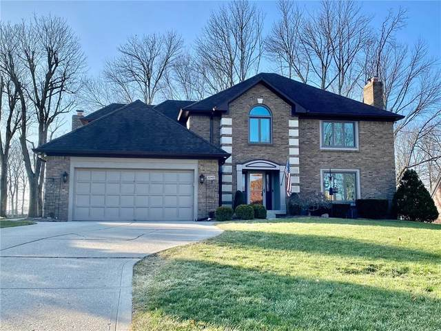 2040 Woodsway Drive, Greenwood, IN 46143 (MLS #21761153) :: Mike Price Realty Team - RE/MAX Centerstone