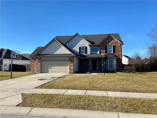 815 Bristle Lake Drive, Brownsburg, IN 46112 (MLS #21761287) :: Realty ONE Group Dream