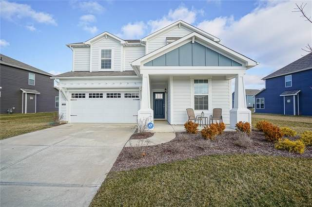 15398 Forest Glade Drive, Fishers, IN 46037 (MLS #21761316) :: The Evelo Team