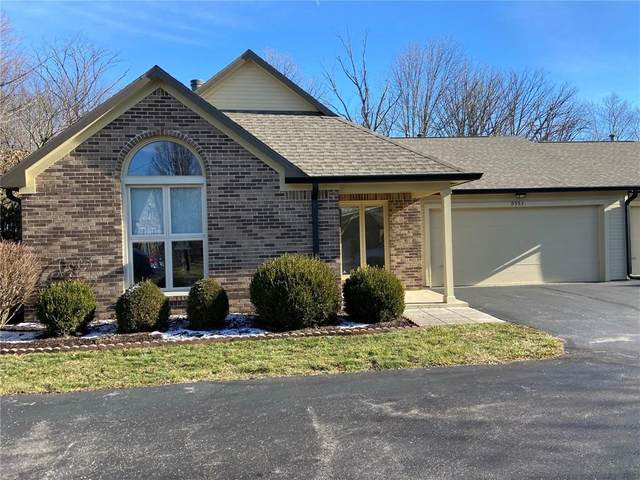 9553 Drakeford Drive, Indianapolis, IN 46260 (MLS #21761365) :: Dean Wagner Realtors