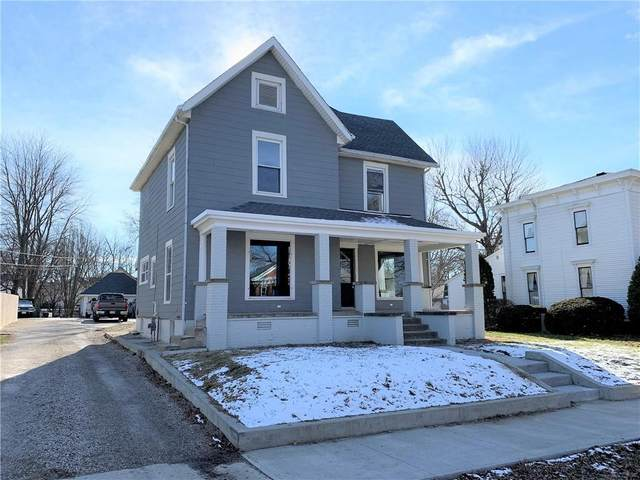 703 E Main Street, Crawfordsville, IN 47933 (MLS #21761373) :: Mike Price Realty Team - RE/MAX Centerstone