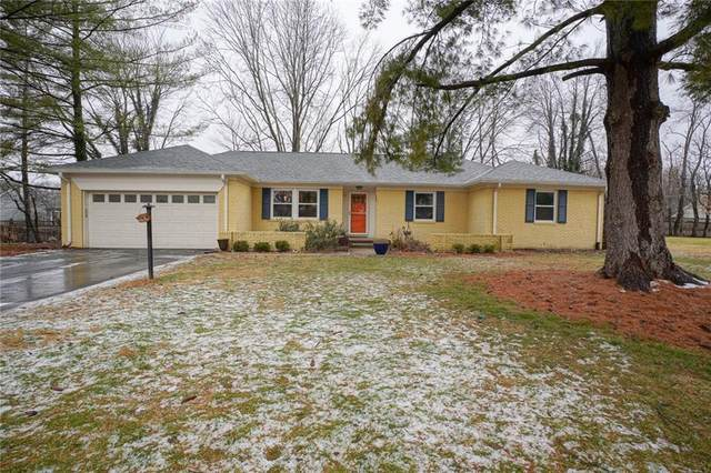 4550 Oakwood Drive, Zionsville, IN 46077 (MLS #21761462) :: Mike Price Realty Team - RE/MAX Centerstone